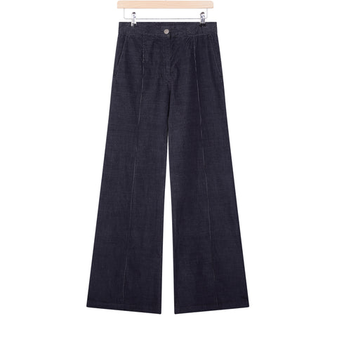 Masscob Grey cord flare trousers