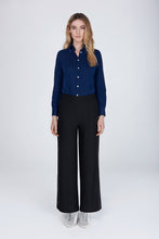 Load image into Gallery viewer, Cressida Lurex trousers glitter black melanie press collection