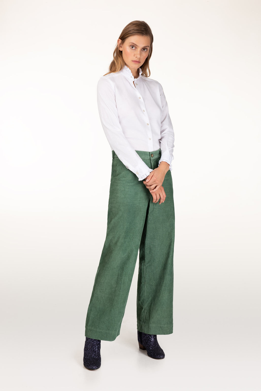 Sailor green cord pant