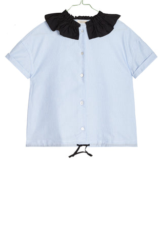 Pierrot Shirt in Blue