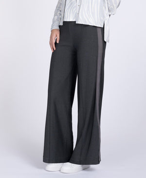Cressida grey lurex trousers