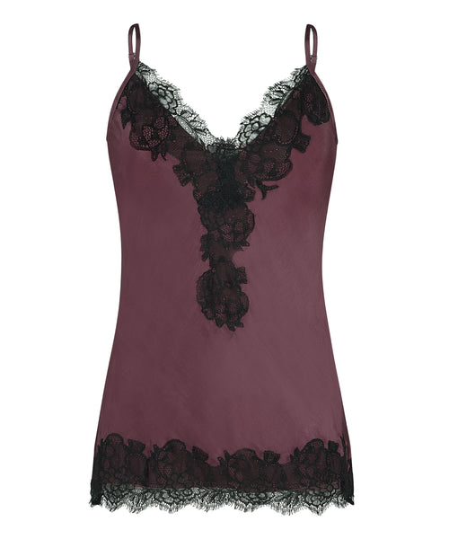 The Lucy Cami in Burgundy