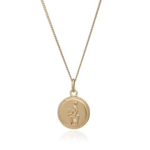 Queen Of Revelry Coin necklace