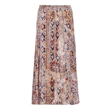 Load image into Gallery viewer, Sarat velvet print skirt