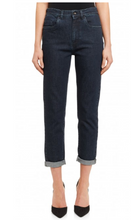 Load image into Gallery viewer, Saltspin Mom Jean Dark Wash