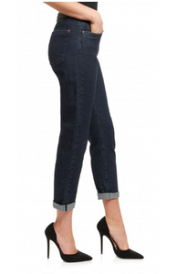 Saltspin Mom Jean Dark Wash