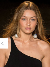 Load image into Gallery viewer, Dueci Italian pearl disco ball drop earrings