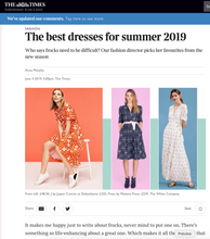 Load image into Gallery viewer, The Times fashion Anna Murphy