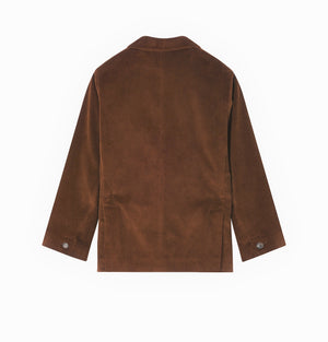 Luxembourg brown cord jacket