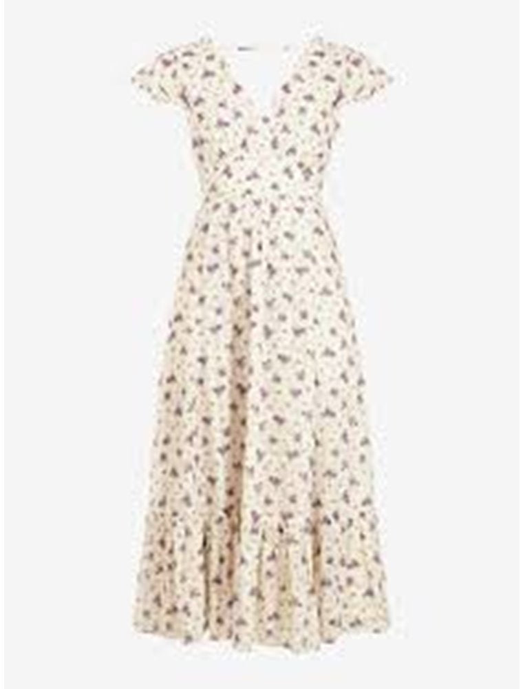 Printed white Buarque dress
