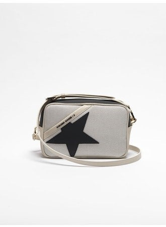 Star Bag in grey gum mesh with rubber