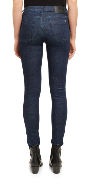 Saltspin Mid-Rise Dark Wash Skinny Jeans