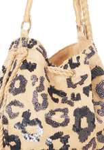 Load image into Gallery viewer, Rhoda leopard-fabric crossbody bag