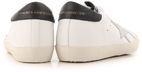 Golden Goose white low top superstar sneaker