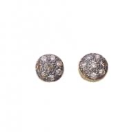 Load image into Gallery viewer, 5Octobre stud diamond earrings