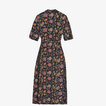 Load image into Gallery viewer, Fuku Wrap Print Dress