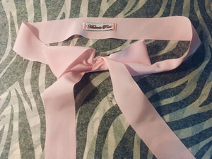 MP Pink ribbon belt