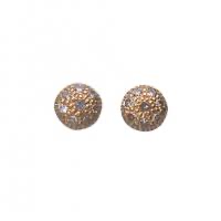 Dye stud earrings