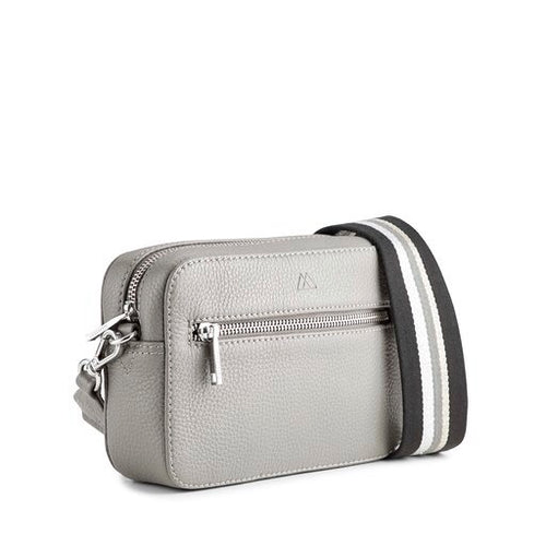 Markberg grey elea strap bag