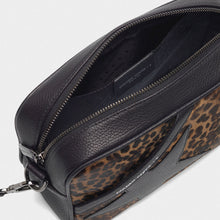 Load image into Gallery viewer, Star leopard print pony bag