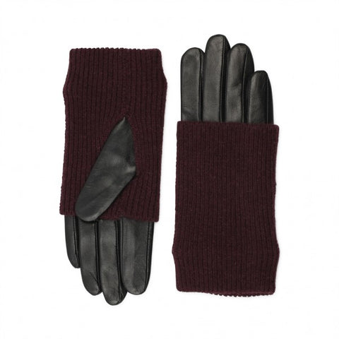 Markberg Gloves in Burgundy