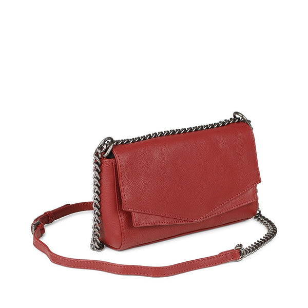 Markberg Crossbody Bag Red Leather