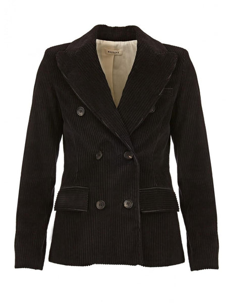 Black cord Lukas jacket