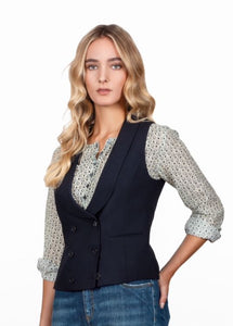 Cady Black Waistcoat Melanie Press Gucci Style Press Primrose hill