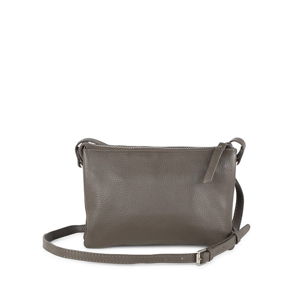 Markberg Vera Leather Crossbody Bag Earth