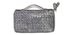 Load image into Gallery viewer, bottega veneta weave leather bag jodie pouch clutch