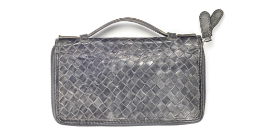 bottega veneta weave leather bag jodie pouch clutch
