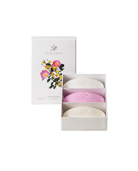 Soap Gift Set: White Moss, Virginia Rose, Calycanthus