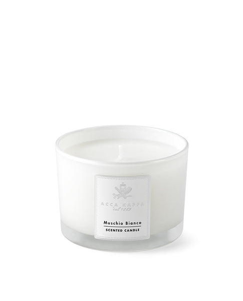 Scented Candle, White Moss