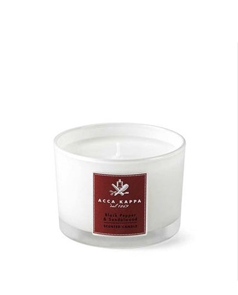 Scented Candle, Black Pepper and Sandalwood