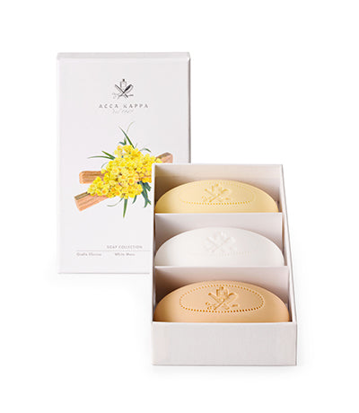 Soap Set - White Moss, Giallo Elicriso, Sandalwood