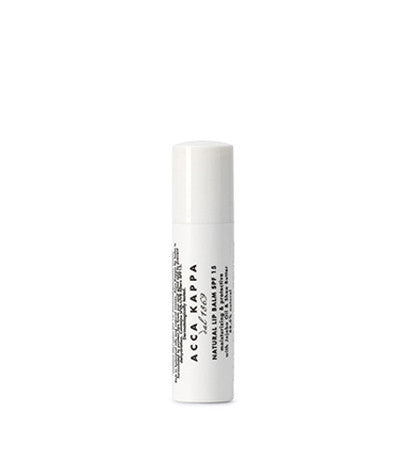 Image of Acca Kappa's Natural Lip Care Natural Lip Balm 15 SPF