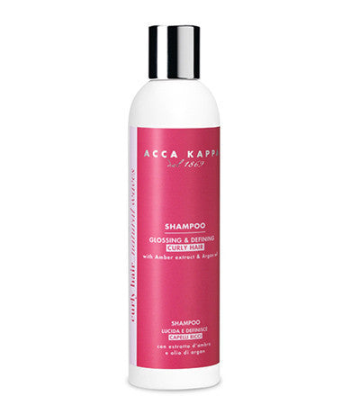 Image of Acca Kappa's Curly & Frizzy Shampoo For Curly Hair