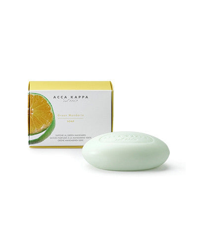 Image of Acca Kappa's Green Mandarin Vegetable Based Soap