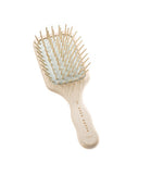 Beechwood Travel Brush With Wood Pins 7.0""