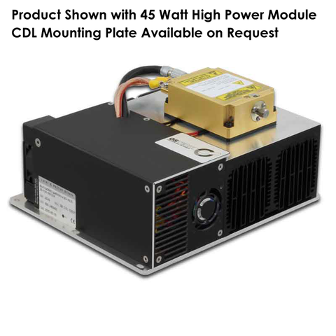 CDL Packaged eagleyard photonics Laser Diode Control Bundle: Integrated High Power Turnkey OEM Control and Mounting Module: Includes Cooling Plate with TEC's and Fan