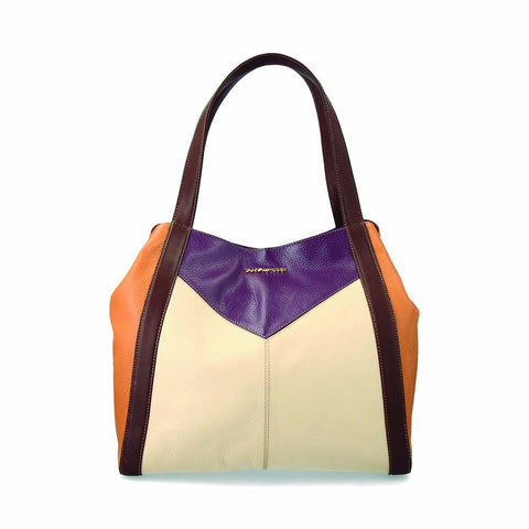 Amber and purple Tote Bag
