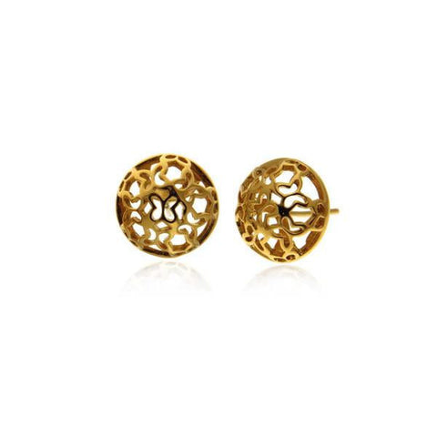 Piara Vermeil Silver Stud Earrings
