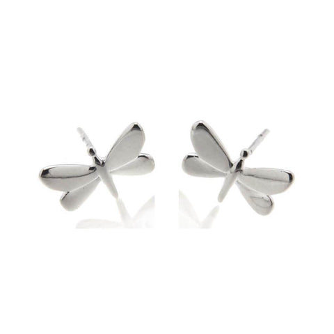 Azul Sterling Silver Dragonfly Studs