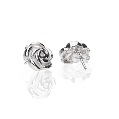 Sterling Silver Bouquet Studs