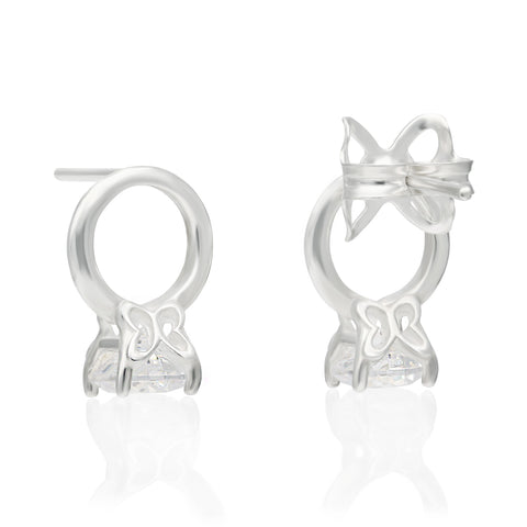 Forever Sterling Silver Earrings