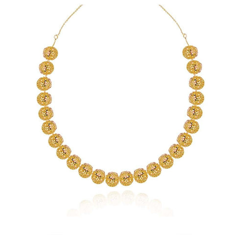 Vermeil Large Piara Silver Necklace