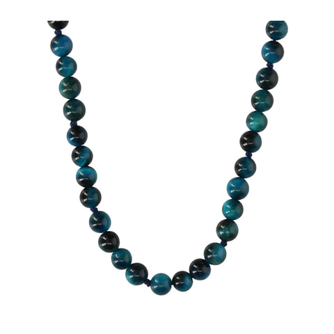 Blue Agate Short Necklace - N2200