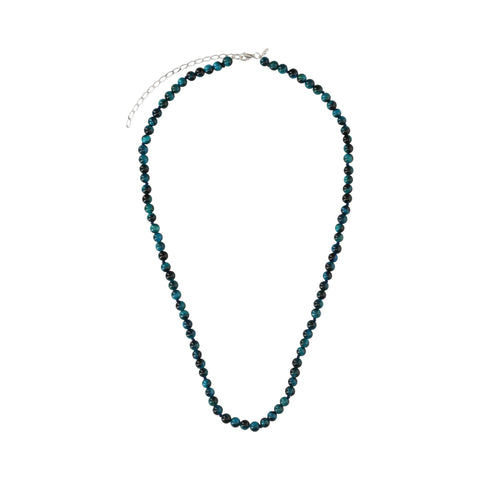 Blue Agate Medium Necklace - N2201