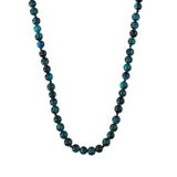 Blue Agate Long Necklace - N2202