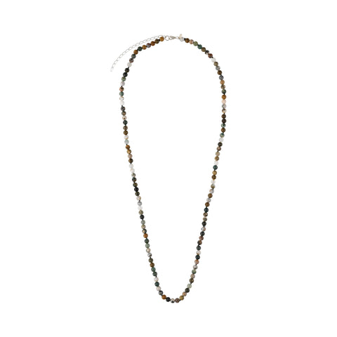 Ocean Jasper Agate Long Necklace - N2208